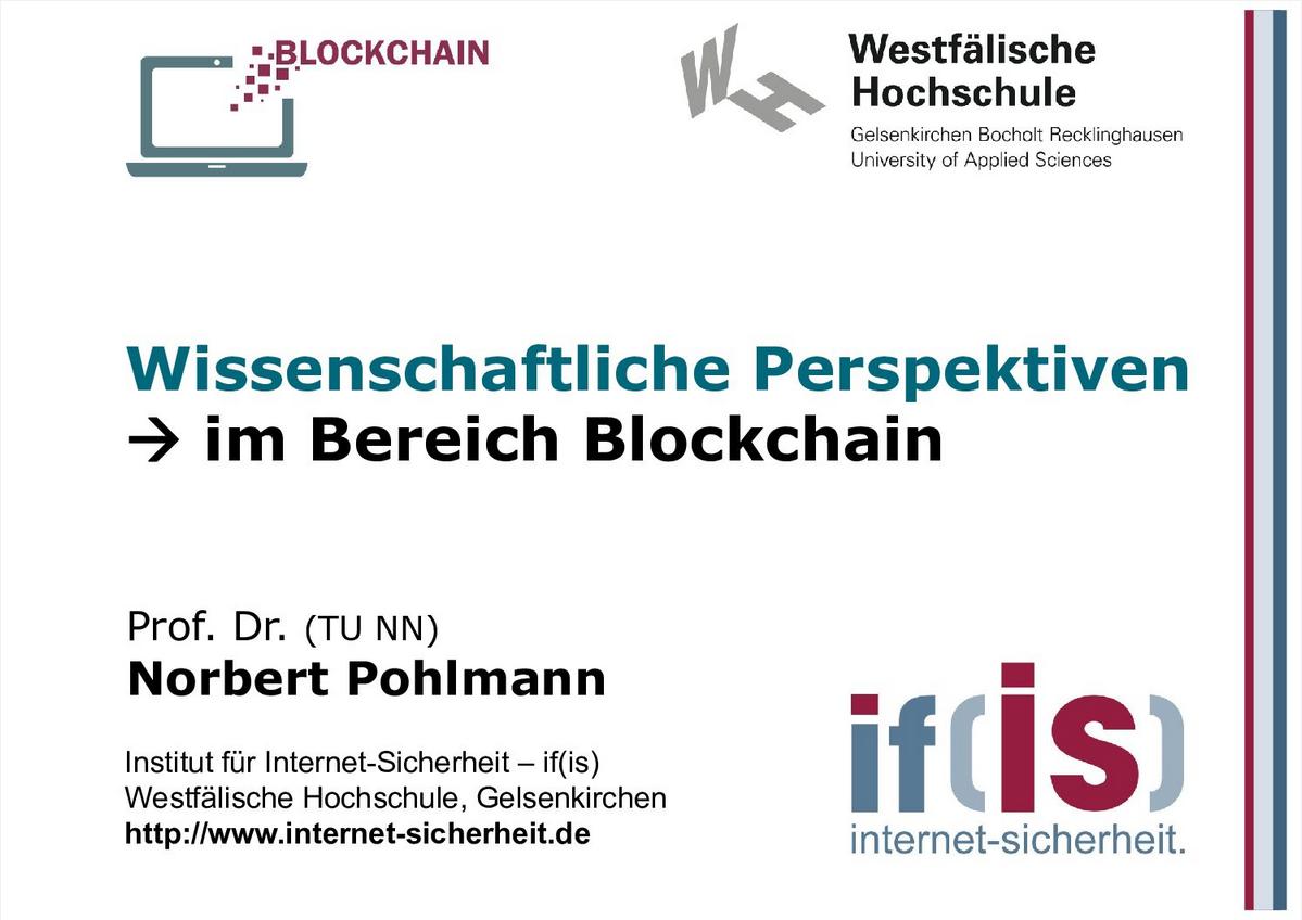 379-Wissenschaftliche Perspektiven im Bereich Blockchain