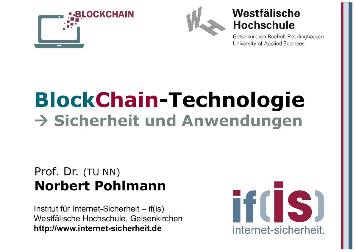 380-BlockChain-Technologie - Sicherheit und Anwendungen