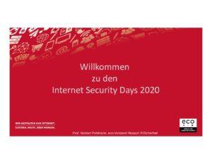 Risk-Management - Vortrag - Prof. Norbert Pohlmann