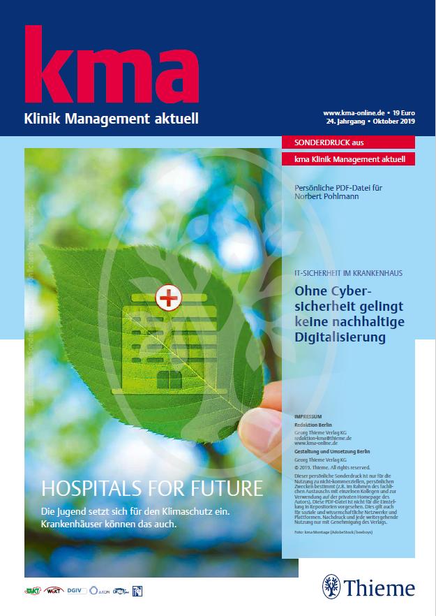 404 - Ohne Cybersicherheit gelingt keine nachhaltige Digitalisierung - IT-Sicherheit im Krankenhaus - Prof. Norbert Pohlmann
