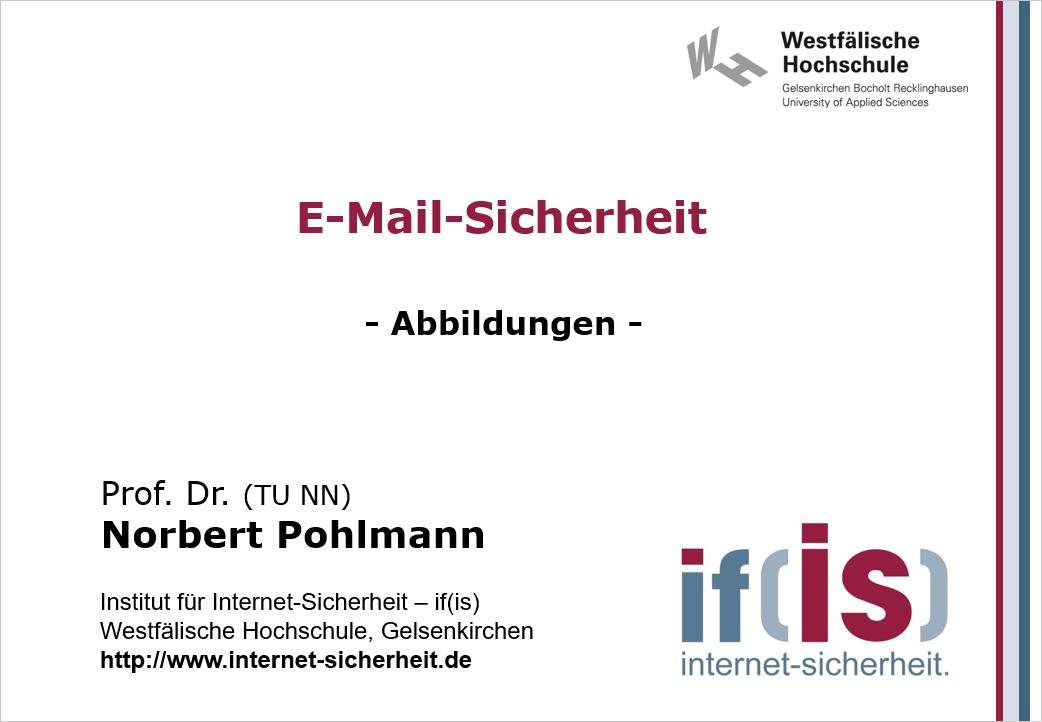 Abbildungen-Vorlesung-E-mail-Sicherheit - Prof. Norbert Pohlmann
