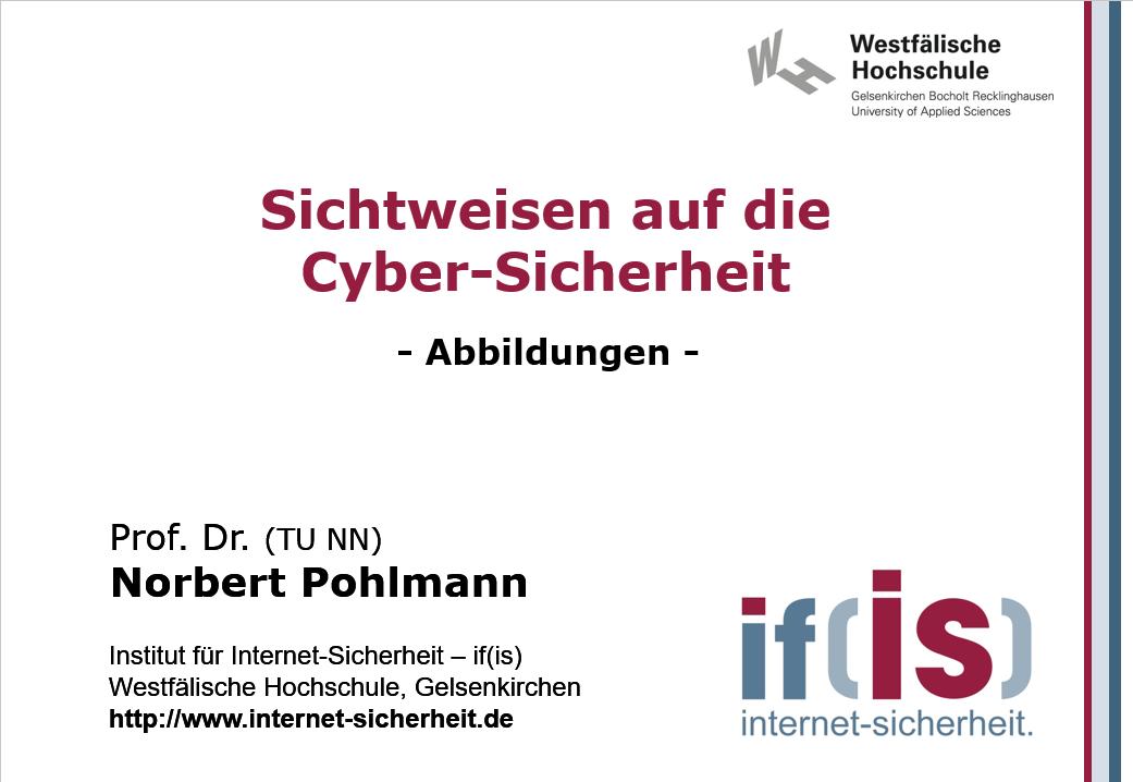 Abbildungen-Vorlesung-Sichtweisen auf die Cyber-Sicherheit - Prof. Norbert Pohlmann
