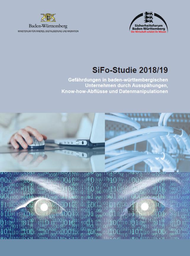 Gefährdungen in baden-württembergischen Unternehmen - SiFo-Studie 2018_19 - Prof. Norbert Pohlmann