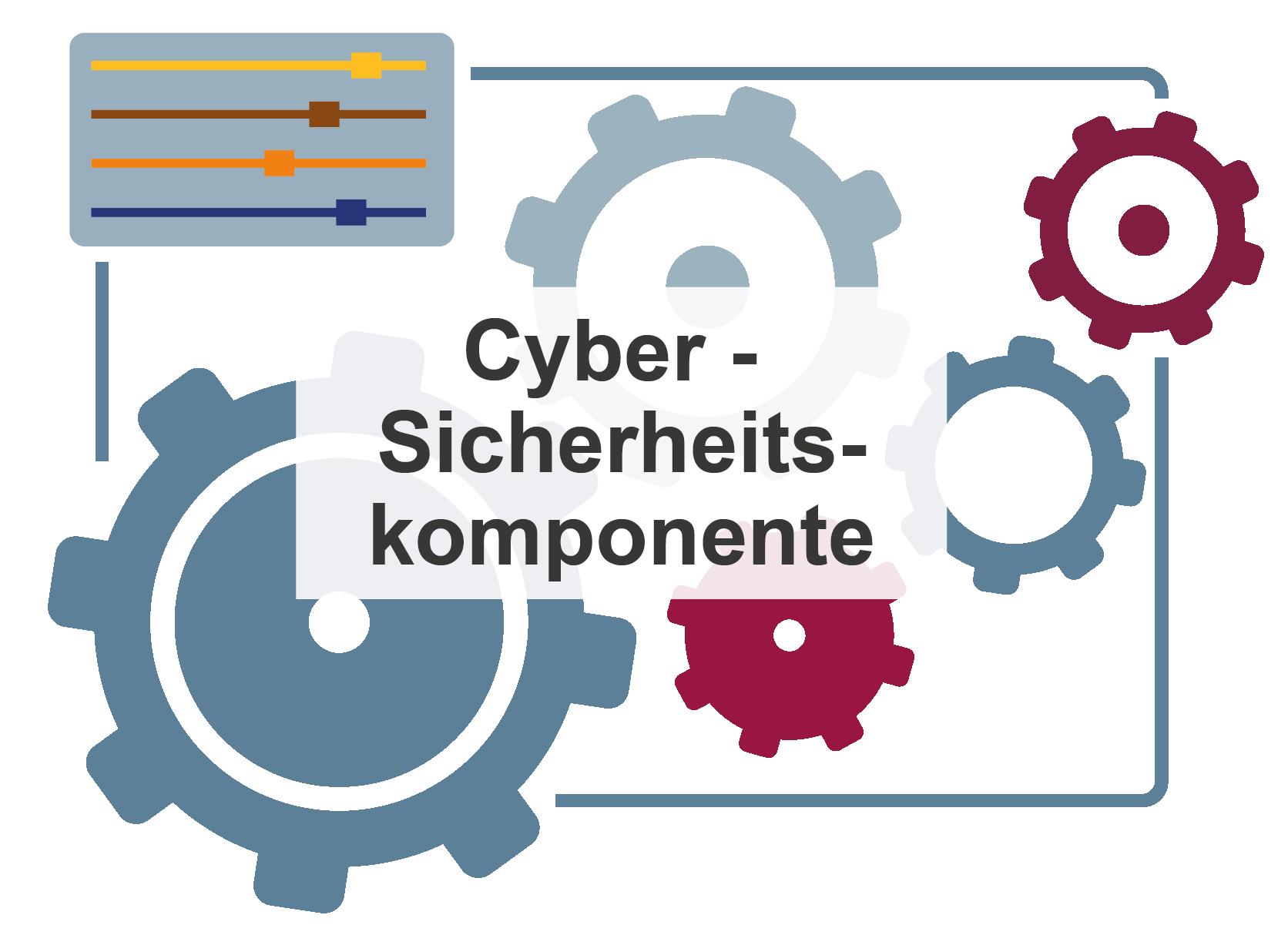 """Symbol für """"Cyber-Sicherheitskomponente"""" – Glossar Cyber-Sicherheit – Prof. Norbert Pohlmann"""