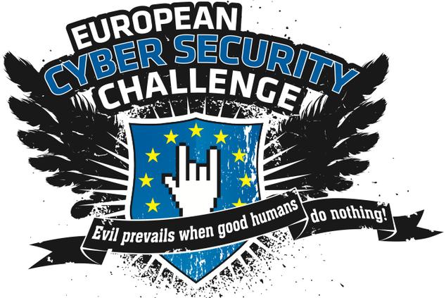 Logo European Cyber Security Challenge - Prof. Norbert Pohlmann