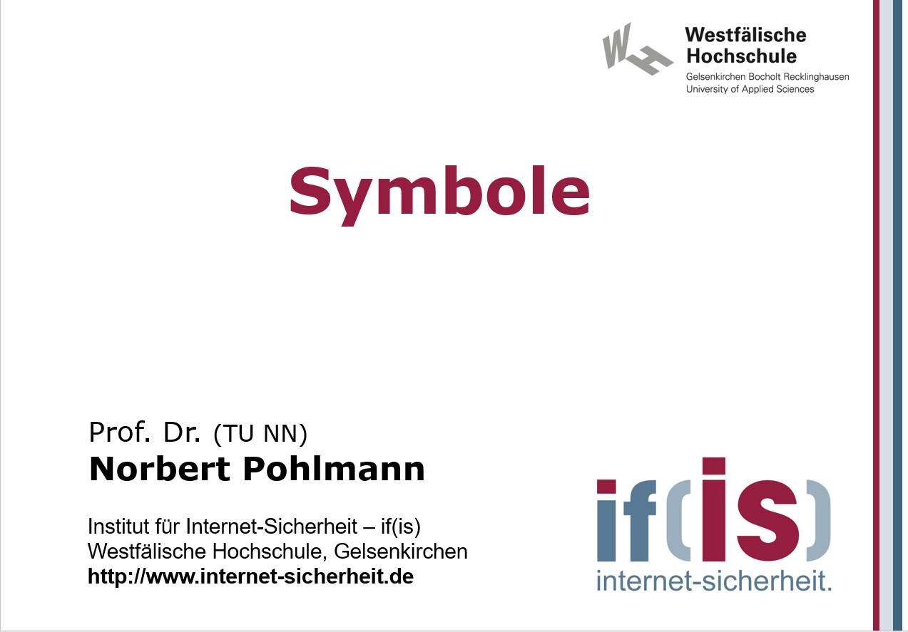Cyber-Sicherheit - Symbole-Abbildungen - Prof. Norbert Pohlmann
