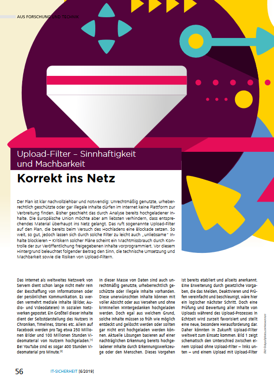 Artikel- Upload-Filter - Prof. Norbert Pohlmann