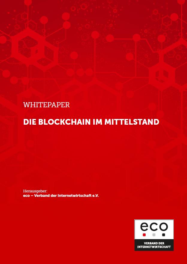 eco Whitepaper - Die Blockchain im Mittelstand - Prof. Norbert Pohlmann