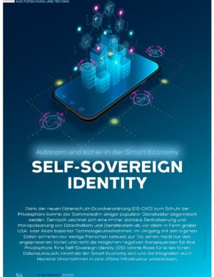 Self-Sovereign Identity - Autonom und sicher in der Smart Economy