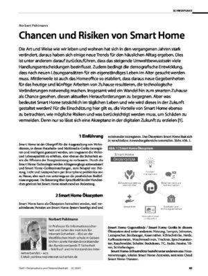 Chancen und Risiken von Smart Home