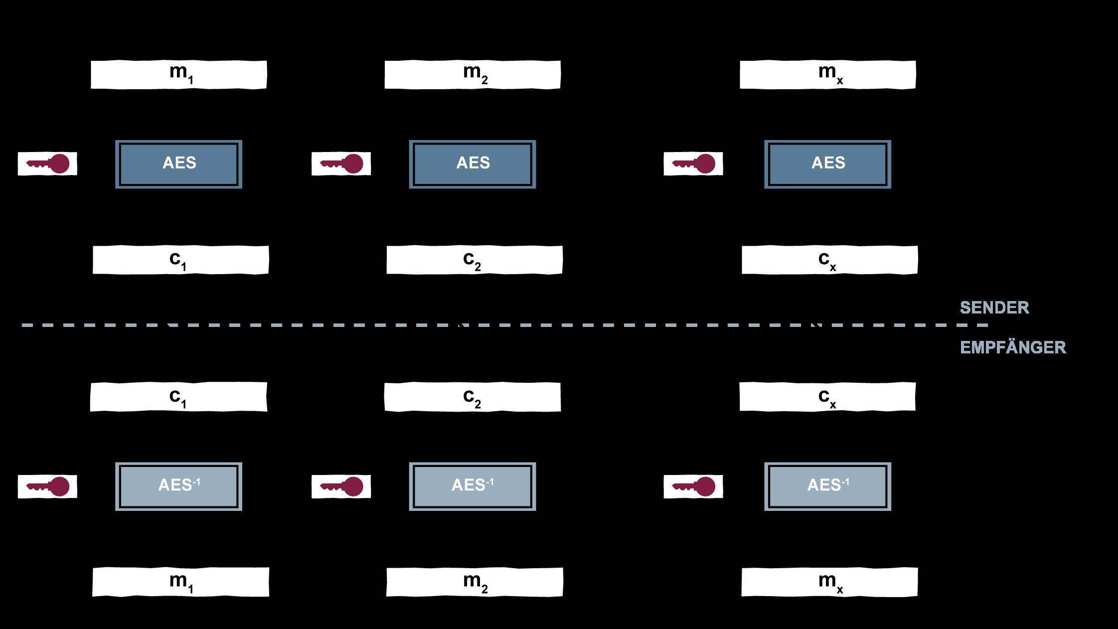 Electronic Code Book Mode - Glossar Cyber-Sicherheit - Prof. Norbert Pohlmann