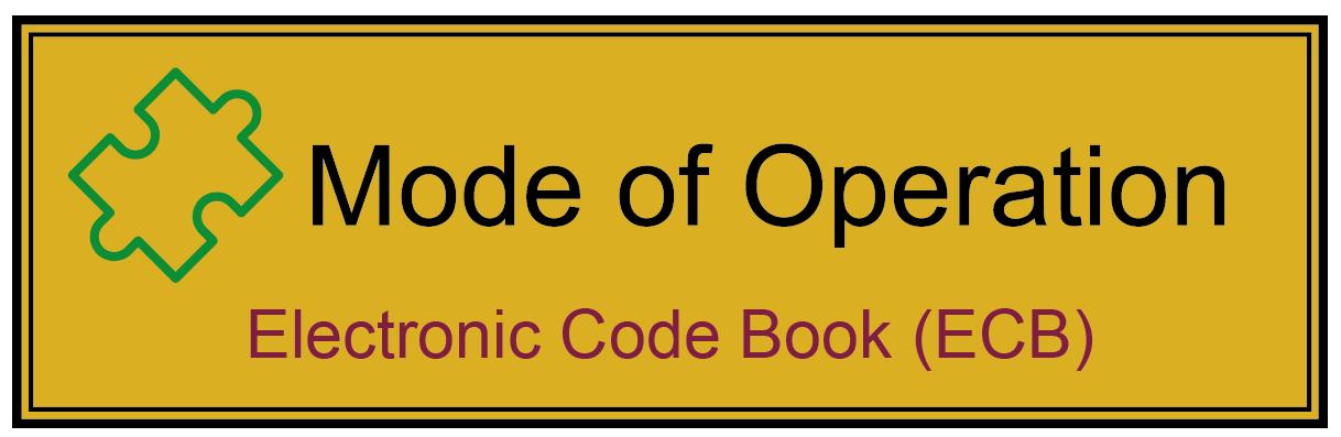 Electronic Code Book Mode (ECB-Mode) - Glossar Cyber-Sicherheit - Prof. Norbert Pohlmann