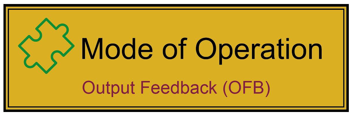 Output Feedback Mode (OFB-Mode) - Glossar Cyber-Sicherheit - Prof. Norbert Pohlmann