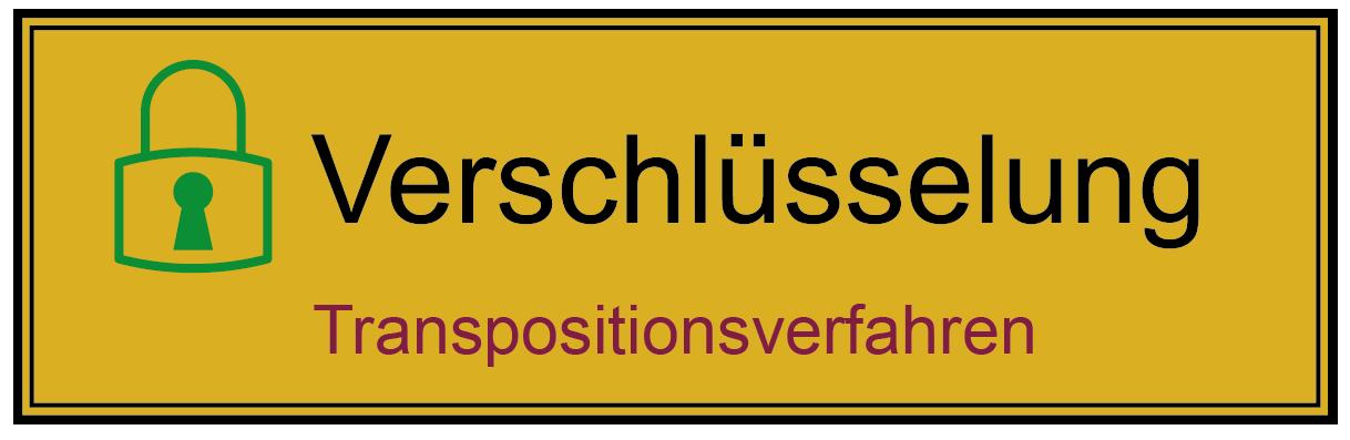 Transpositionsverfahren - Glossar Cyber-Sicherheit - Prof. Norbert Pohlmann