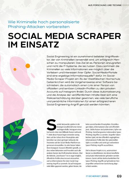 430 - Social Media Scraper im Einsatz – Wie Kriminelle hoch personalisierte Phishing-Attacken vorbereiten - Prof Norbert Pohlmann